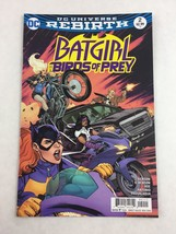 Batgirl And The Birds Of Prey #2 Nov 2016 - DC Universe Rebirth - $7.91