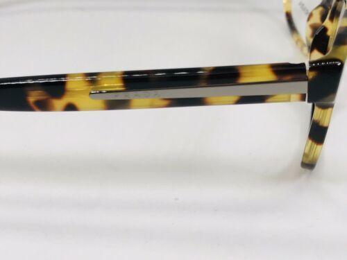 ✳ New Authentic Prada VPR 19P 7S0-101 Havana Eyeglasses 53mm with Case & Cloth