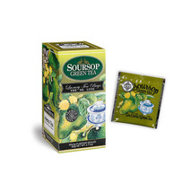 Pure Ceylo tea Mlesna Soursop Green Ceylon tea 30 Bags, 60g 04 packs - $35.15