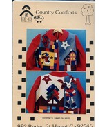 Winter's Sampler Vest Sz 10-20 Country Comforts Quilting Pattern Booklet... - $5.37