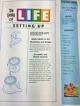 Game of Life Replacement Instructions Directions Paper Sheet Board Game ... - $7.82