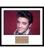 Ultra Cool - Elvis Presley - Rock Legend - Authentic Hand Signed Autograph - $349.99