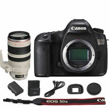 Canon EOS 5DS DSLR Camera Body with EF 28-300mm f/3.5-5.6L IS USM Lens - $4,376.97