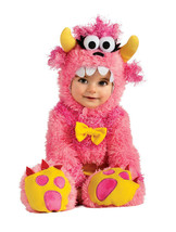 Adorable Fluffy Pinky Winky Monster Romper & Headpiece Costume, Rubies - $610,38 MXN