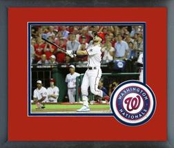 Bryce Harper 2018 MLB All-Star Game Action- 11x14 Team Logo Matted/Frame... - $42.95