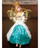 Vintage Christmas Barbie Ornament Hallmark Keepsake Angel of Joy 2000  - $5.53
