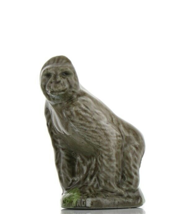 Whimsies Porcelain Miniatures by Wade Gorilla Figurine