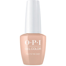 OPI GelColor Pale To The Chief GC W57 Soak Off Led/UV Gel Polish .5oz Ne... - $14.50