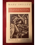 Mary Shelley FRANKENSTEIN Modern Library 1st Edition. - $196.00