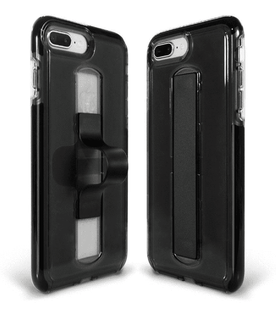BodyGuardz Apple iPhone 8 Plus/7 Plus/6s Plus/6 Plus SlideVue Case - Smoke
