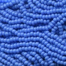11/0 Seed Bead Rocaille Full Hank Blue 17 - $7.99
