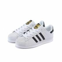 "Adidas Superstar ""WHITE/BLACK"" Men's Us Size 11 Style# C77124 - $74.20"