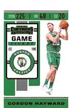 2019-20 Panini Contenders Game Ticket Red #35 Gordon Hayward Celtics - $3.49