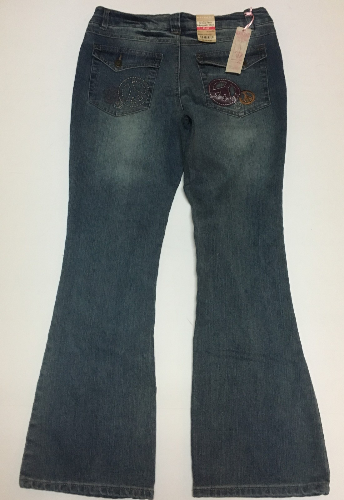 Girl's Arizona Blue Jeans Sz 12.5 Plus Adjustable Waist Skinny Flare