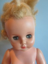 "Vintage  Horsman Doll T21 - 19"" Tall/Long blonde hair blue open/close eyes - $34.65"