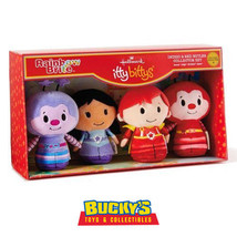 Indigo & Red Butler Set Hallmark itty bittys Hammy Sprite Romeo Rainbow ... - $29.64