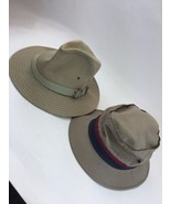Two Scala Classic Dorfman Pacific Cotton Hat Size M And Bucket L USED - $18.69