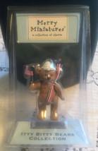 Dandy 2002 Merry Miniatures-Bitty Bears Collection Of Charm Hallmark Figurine - $4.94