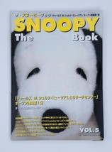 The Snoopy Book Japanese Peanuts Shopper's Selection Catalog Vol.5 2002 Sticker - $11.88