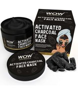 WOW Activated Charcoal Face Mask with PM 2.5 Anti-Pollution shield 200ml - $21.49