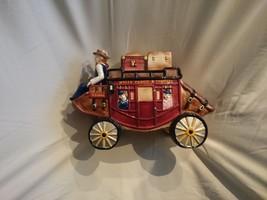 2002 Wells Fargo Cookie Jar Stage Coach - $23.00