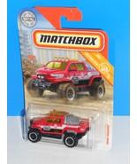 Matchbox 2018 MBX Construction #63 Snow Thrasher Red JIMEKA County MNT R... - $3.00