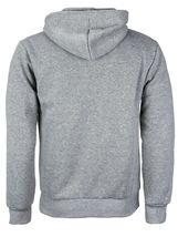 Men's Cotton Blend Zip Up Drawstring Fleece Lined Sport Gym Sweater Hoodie image 7