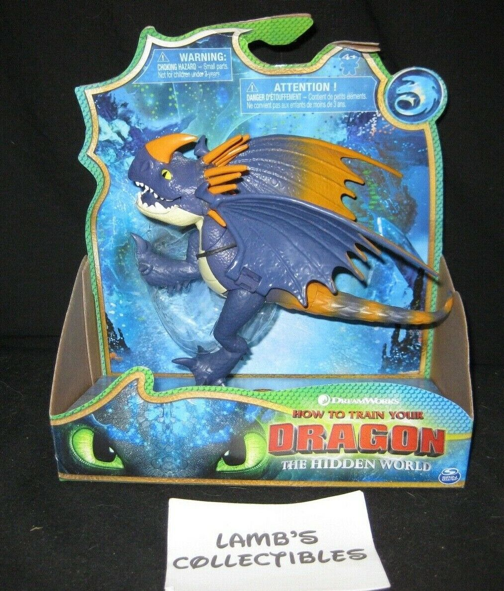 Primary image for How to train your Dragon 3 The Hidden World Purple Deadly Nadder Action Figure