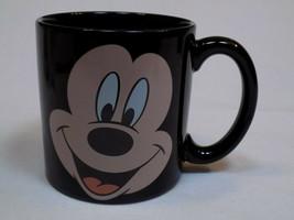 Mickey + Minnie Mouse Walt Disney The Store Large Black Coffee Cup Mug Ceramic   - $19.99