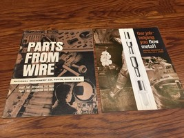 Vintage Literature - Parts From Wire - National Machinery Co -SAE Annual... - $14.99
