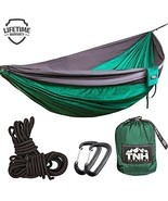 TNH Outdoors #1 Premium Double Camping Hammock Premium Quality Hammock -... - £35.50 GBP