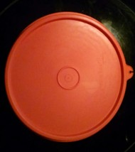 """1 Tupperware replacement lid seal with C tab Orange 6"""" 227-44 Nice (3 available) - $4.89"""