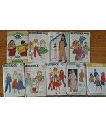 Vintage Lot of 9 Sewing Patterns Butterick Simplicity  1970s - $8.37