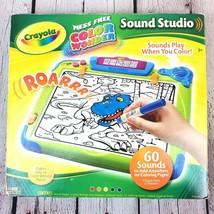 Crayola Color Wonder Sound Studio Drawing Board w/ Markers & Sound Cards... - $21.00
