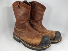 Keen Dallas Wellington Sz 13 2E WIDE EU 47 Men's Steel Toe Work Boots 1007043EE