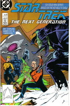 Star Trek: The Next Generation Comic Book Mini-Series #2, DC 1988 NEAR MINT - $3.99