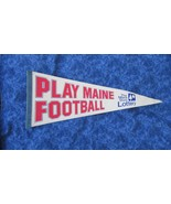 Vintage Maine Football Pennant Maine State Lottery - $14.89