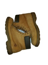 """Timberland Wheat Leather Mens Size 12 M Padded Collar 6"""" Work Boots #18094 - $64.34"""