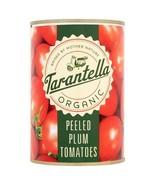 Tarantella Organic Peeled Plum tomatoes in Tomato Juice 400g - $4.40