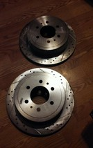 Power Stop AR8598XPR Drilled & Slotted Rear Rotor Set for F-150/Mark LT