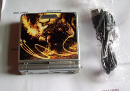 GameBoy Advance SP Platinum Silver Handheld System W/ CHARGER - DRAGON ... - $49.99