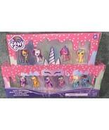 UNICORN PARTY CELEBRATION My Little Pony 10 MINI Pack DAZZLE CAKE Cadance NEW - $29.99
