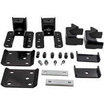 """5"""" - 6"""" Drop Axle Flip Kit Rear Lowering for Chevy 1500 08-2018 LS Crew Cab - $161.37"""