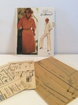 Vogue Sewing Pattern 1200 Vtg Leo Narducci 8 Dress Tunic Pants Loose Fit... - $13.81