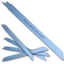 "5pcs KENT R922BF, 9"" Bi-Metal 14TPI Flexible Reciprocating Saw Blades Fo... - $17.52"