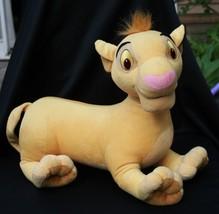 "Walt Disney Large Plush Young Simba Lion King 18"" Stuffed Animal Cub - $19.35"
