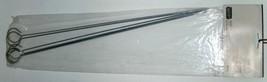 MHP SR7B Chrome Plated Skewer BBQ Grilling Rods Set of 6 image 2