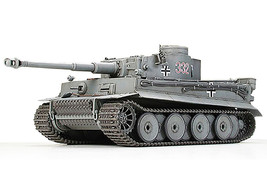 Tamiya 1/48 German Tiger I Early Prod. Plastic Model Kit 32504 - $26.50