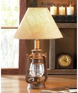 Vintage Camping Lantern Table Lamp Indoor Lighting - $45.40