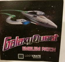 Galaxy Quest Emblem Patch Quantum Mechanix Prop Replica Exclusive QMx - $8.12
